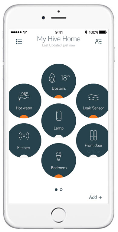 Hive wireless thermostat thermostat manual 2 51 hive reciever set a pin lock on your app or thermostat asfbconference2016 Gallery