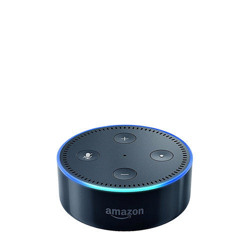 Amazon Echo Dot in Black