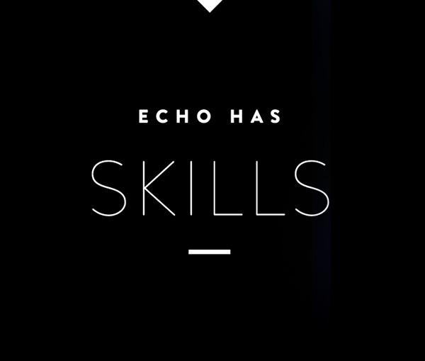 Echo has skills