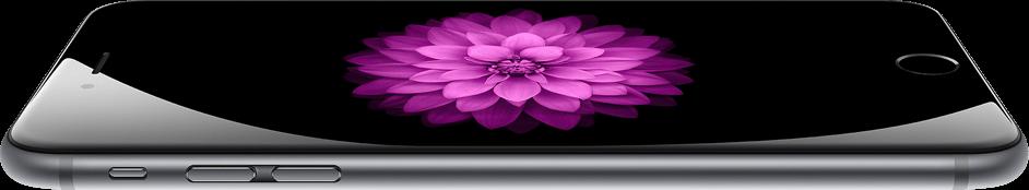 iPhone 6 aluminium and glass design