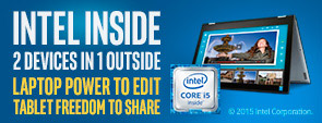 Intel 2 in 1 laptops