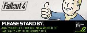 Fallout 4 with GeForce GTX