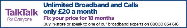 sky Broadband saving