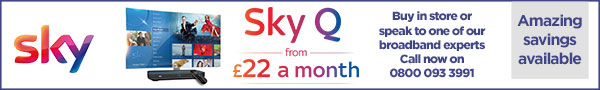 sky Broadband saving