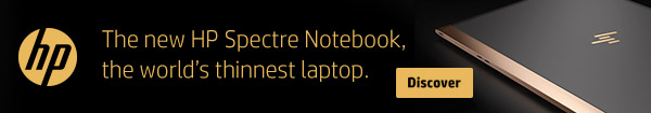 New HP Spectre Notebook