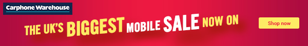 Carphone Warehouse Sale
