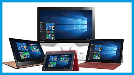 All-in-One computers with Windows 10