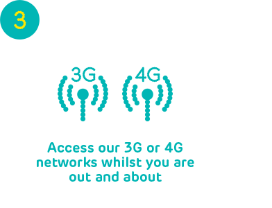 EE Step 3 - Access EE 3G and 4G networks