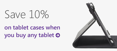 Tablet case offer