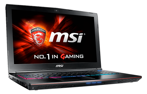 MSI Apache Pro GE62 2QF Gaming Laptop