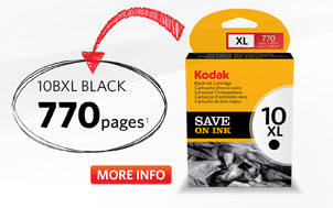 Kodak 10BXL Black Ink Cartridge