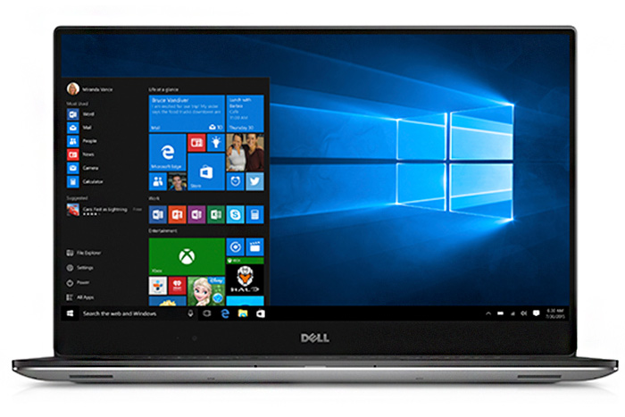 Dell XPS 15 inch laptop