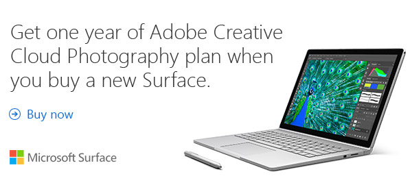 Surface Creative Cloud