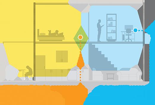 Netgear range extenders pc world for Indoor wifi network design