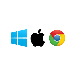 Windows, Apple, Chrome