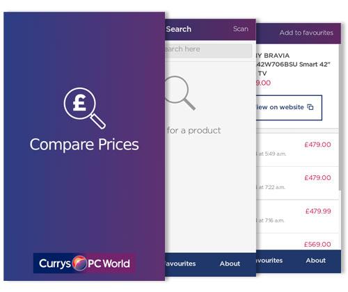 Price comparison app