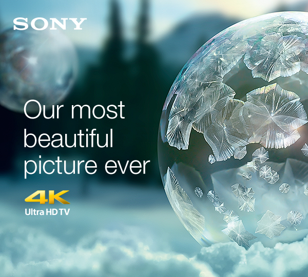 Sony 4k UHD TV - Our most beautiful picture ever