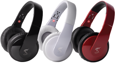 Goji headphones by Tinchy Stryder