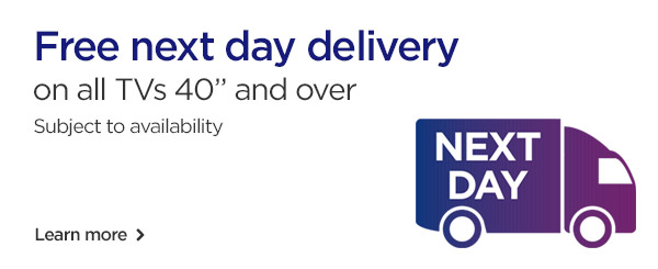 Free next day delivery on thousands of products
