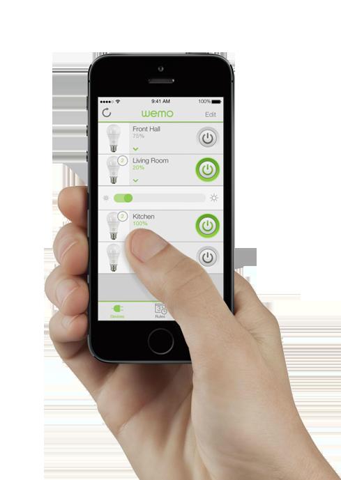 WEMO mobile control